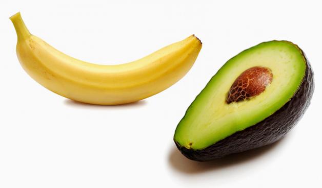 Resultado de imagem para Abacate e Banana
