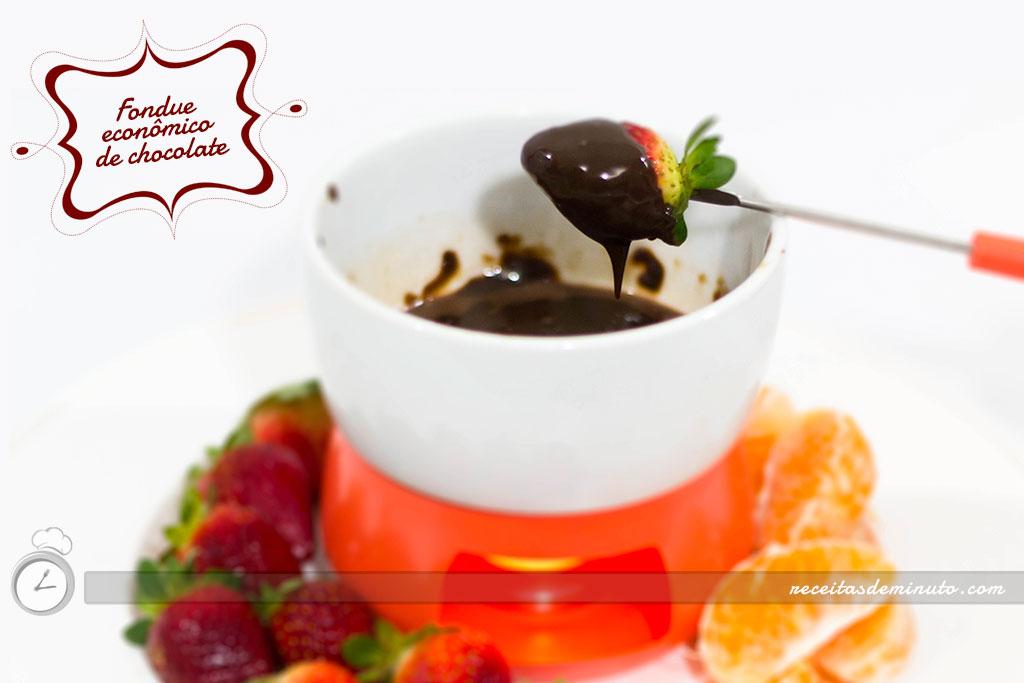 Fondue econ mico de chocolate receitas de minuto a solu o pr tica para o seu dia a dia - Fondue de chocolate ...