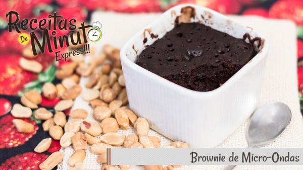 brownie de microondas