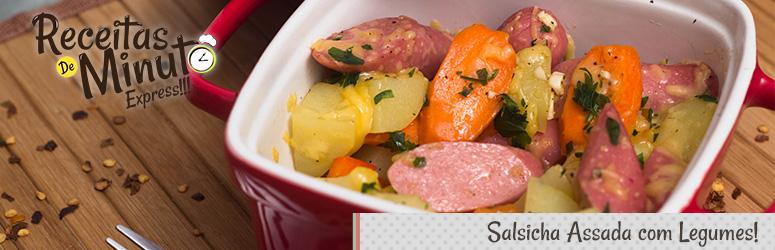 salsicha_assada_com_legumes