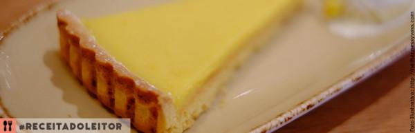 Torta de Limão de Padaria