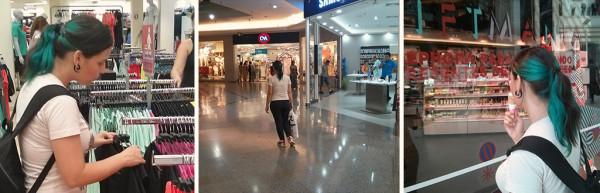 Passeio no Shopping