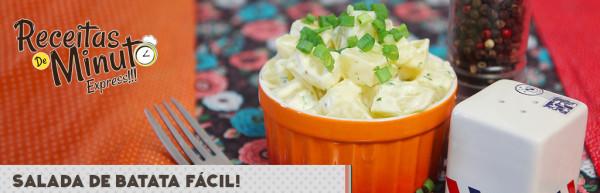 Salada de Batata Fácil
