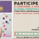 ENCERRADO! Sorteio Kit Luva + Pano de Prato + Colar Cupcake