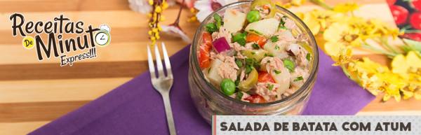 Salada de Batata com Atum