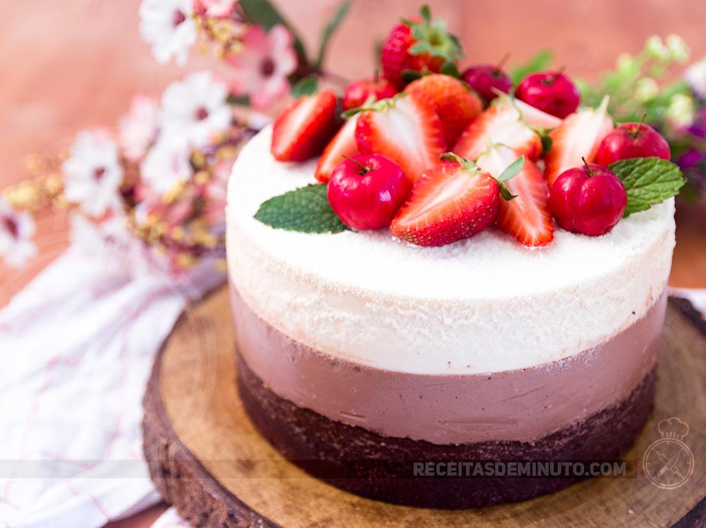 Torta De Brownie Com Nutella E Leite Ninho Receitas De Minuto A