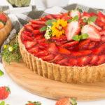 Torta de Morango de Padaria