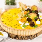 Torta Mousse de Maracujá Super Fácil!
