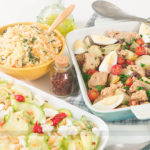 Almoço de Páscoa: Atum Assado com Batatas