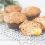 Lanche: Muffin de Bacon com Ovo