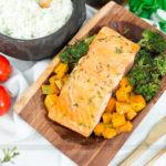 Almoço de Páscoa em 20 Minutos! Salmão Assado com Legumes