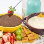Fondue Rápido de Queijo e Chocolate