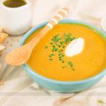 A melhor sopa para o inverno: Sopa de Abóbora Defumada