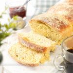 Pão de Milho Caseiro Fofinho