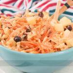 Salada Agridoce de Repolho com Cenoura